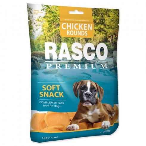 RASCO Premium Chicken Round Soft Snack 230gr (csirke gyűrű- jutalomfalat kutyáknak)